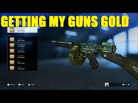 BATTLEFIELD V LIVE   GETTING MY GUNS GOLD!