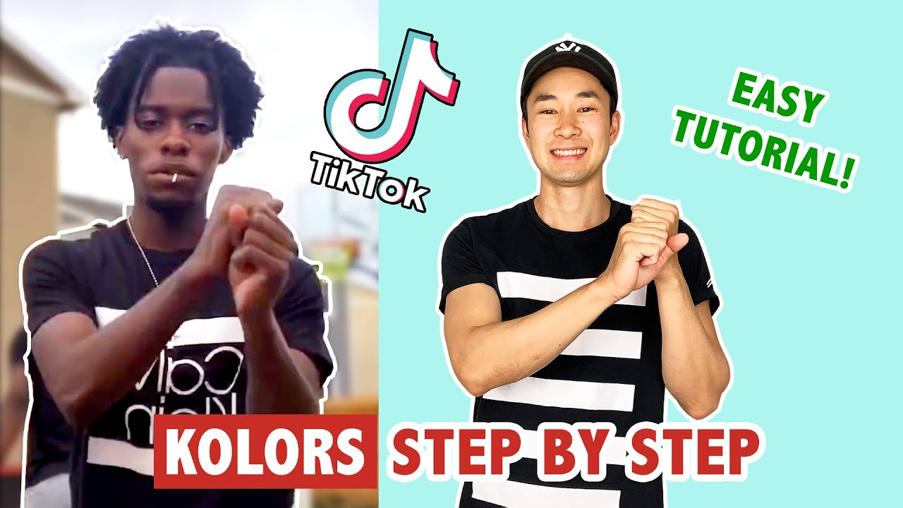 KOLORS TUTORIAL SLOW | TIK TOK DANCE