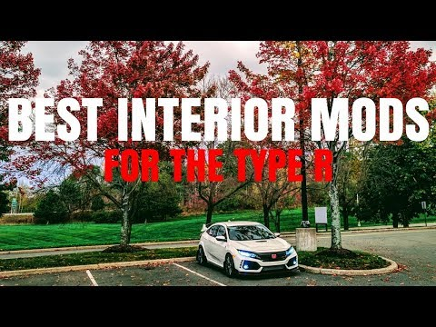 NEW Honda Civic Type R Interior Mods | Best Cheap Mods For A BRIGHTER Interior