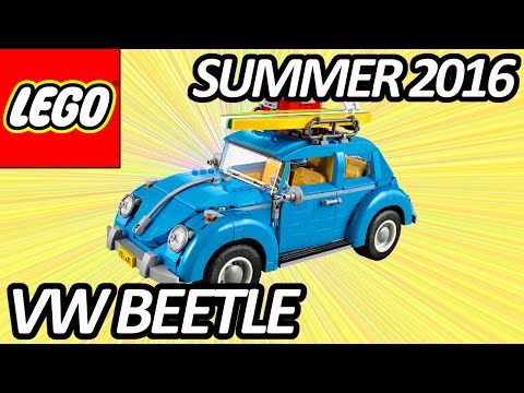 LEGO CREATOR EXPERT Volkswagen Beetle (10252) Officially Announced and Pictures - レゴ クリエイター