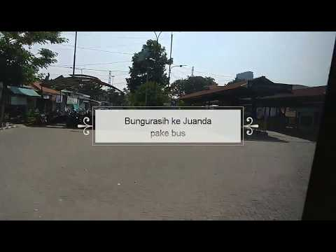 Cara Naik bus dari Bungurasih ke bandara Juanda