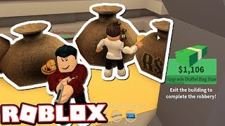 Jailbreak Mythbusters: WILL PUNCHING THE MONEY SPEED UP THE ROBBERY??? (Roblox Jailbreak)