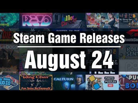 New Steam Games - Tuesday August 24 2021 |