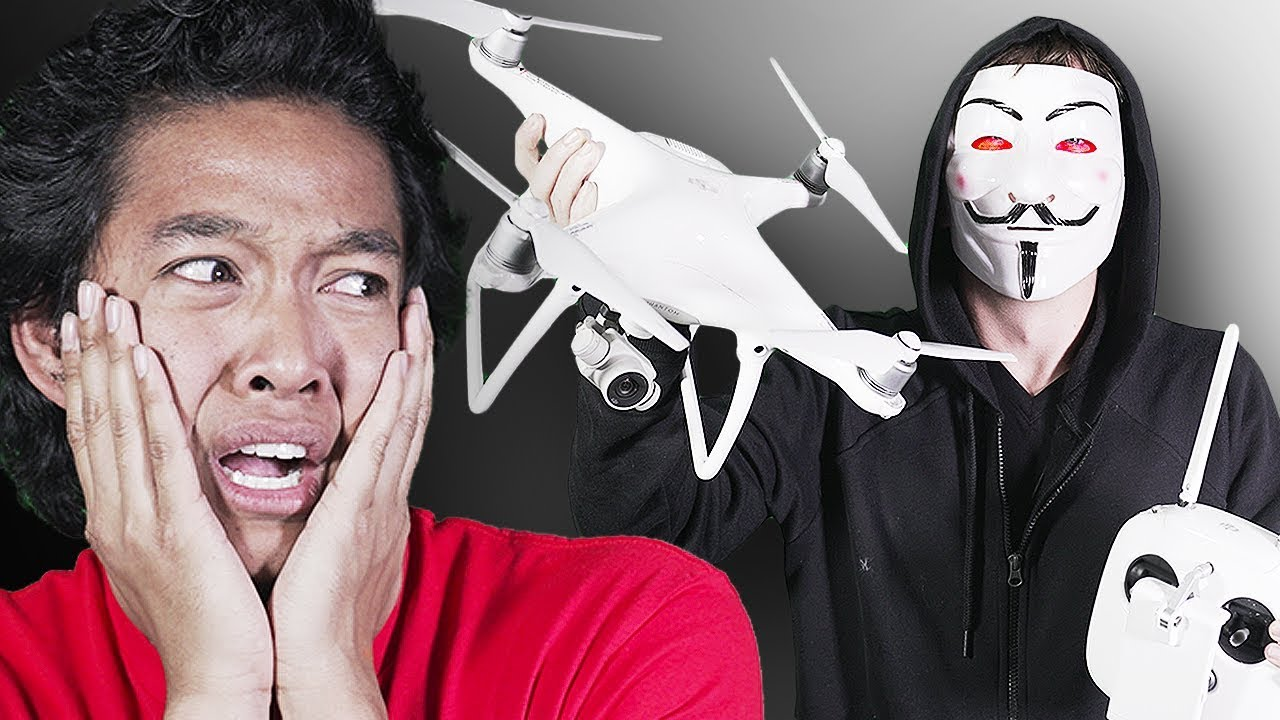 Hacker DRONE ATTACK *HELP* - YouTube