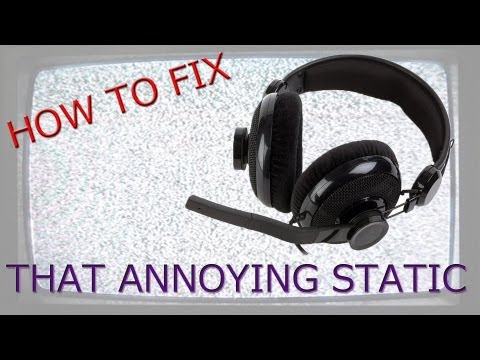 HOW TO FIX STATIC ON MIC/HEADSET (ALC898 Realtek