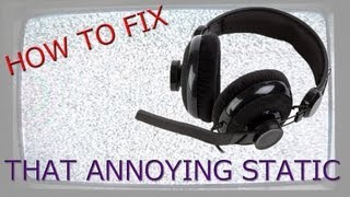 HOW TO FIX STATIC ON MIC/HEADSET (ALC898 Realtek) (Mechanical Way)