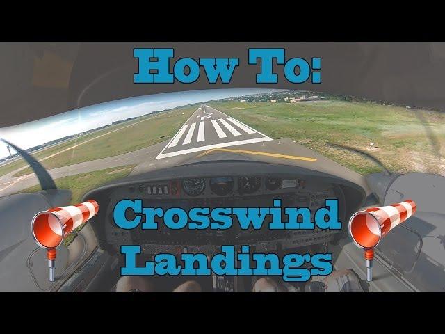 How To: Crosswind Landings || Diamond Twinstar