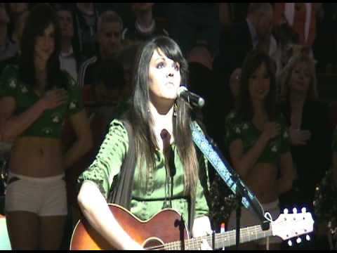 Mia Boostrom - 2009 Boston Celtics National Anthem