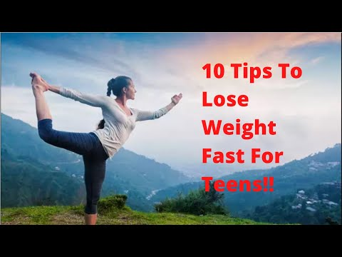 How to lose weight fast for teenagers girls at home | Gain Point