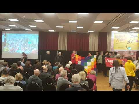 Nancy Larenas, Chile Freundschaftsgesellschaft Salvador Allende - RL Konferenz 2020