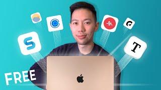 The 7 FREE Productivity Apps I Use (Mac/Windows)