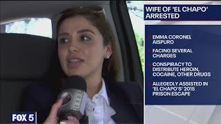 Joaquin 'El Chapo' Guzman's Wife Arrested At Dulles International Airport | FOX 5 DC