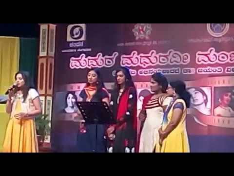 Viraha nooru nooru tharaha songs in MMG programme