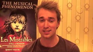 Quirky Questions with Dayle Hodge (Swing) #LesMis