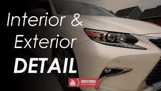 Interior and Exterior Detail // Lexus ES350