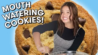 How To Make The Most MOUTH WATERING Cookies with Peyton Elizabeth Lee | What's Cooking