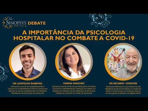 A importância da Psicologia Hospitalar no combate a Covid-19 | Sinopsys Debate #4