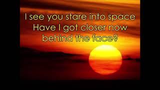 U2 - Promenade (lyrics)