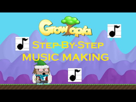 Growtopia | How to Make Music: Step by Step (Simple Song ...