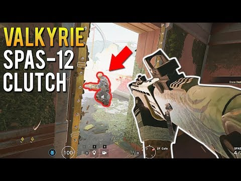The Valkyrie SPAS-12 Cafe Clutch - Ranked Highlights | Rainbow Six Siege