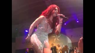 "Haifa Wehbe Singning "" yabn el halal "" in Cyprus "" 28/12/2013"