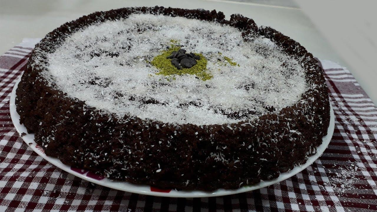 Tart Kalıbında Kremalı Kek Tarifi Videosu