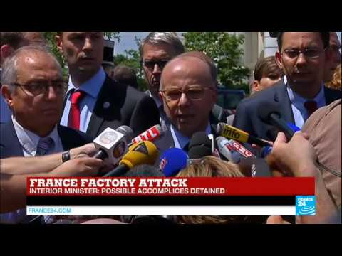 """Interior minister on France terrorist attack: """"suspect had been in touch with Salafist movements"""""""