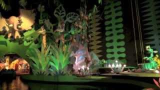Magic Kingdom It's A Small World Leafs plants