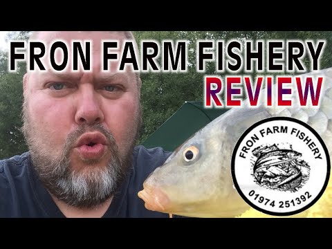Fron Farm Fishery Camping And Campervan Site Review North Wales Nr Aberystwyth UK Fishing