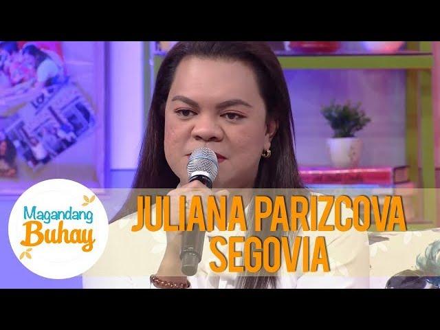 Magandang Buhay: Juliana Parizcova Segovia shares how her father raised her