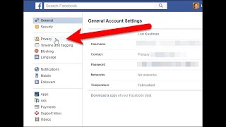 How to private your Facebook account-how to make your Facebook private 2020