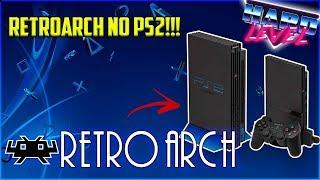Retroarch no PS2? Saiba do que se trata e como está o projeto! +Emulador de Nintendinho (NES)