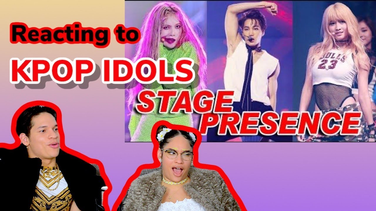Latinos react to IDOLS with the Best STAGE PRESENCE [KPOP] REACTION | FEATURE FRIDAY ✌