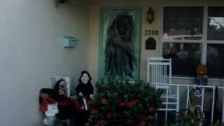 Halloween 2008 Dachshund- -junior Halloween Costume At Home,little Devil