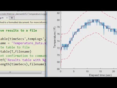 Plotting Live Data of a Temperature Sensor using an Arduino and MATLAB