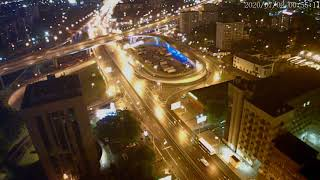 Москва - Нижегородская улица - веб камера 01.07.2020, 21:56