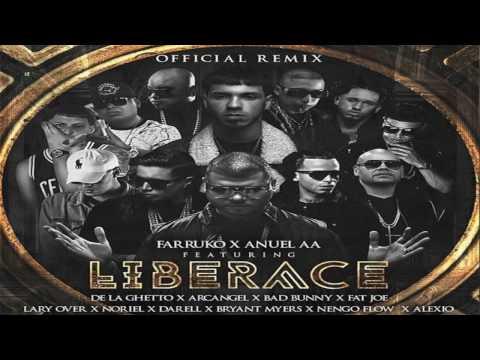 Farruko Ft. Anuel AA, Fat Joe, Arcangel, Lary Over Y Más - Liberace (Official Full Remix)