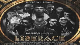 farruko ft anuel aa fat joe arcangel lary over y ms liberace official full remix