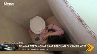 Petugas Gabungan Tangkap Pelajar saat Berduaan di Indekos di Tuban, Jatim - Police Line 07/10