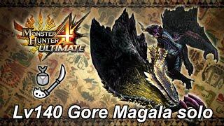 Lv140 Chaotic Gore Magala solo - 11'55''56