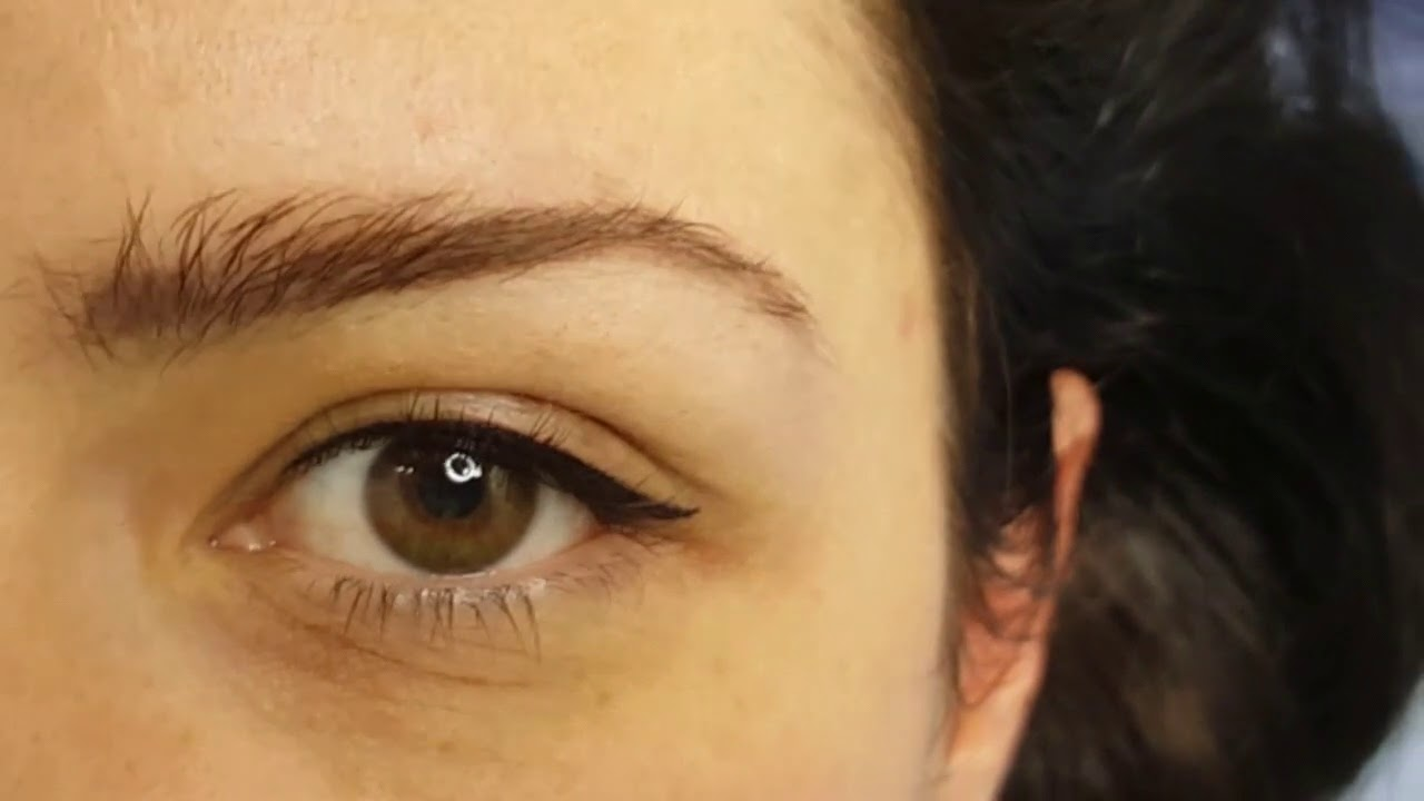 Classic, Latino, Eyeliner with a flick PMU Cosmetic Tattoo by El Truchan @ Perfect Definition