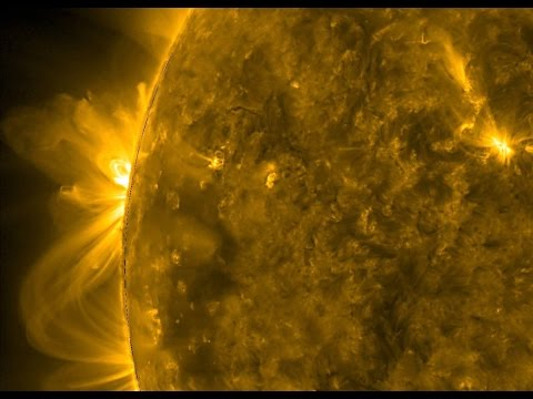 SUN || Thermonuclear Art HD - NASA's Solar Dynamics Observatory - Space Ambient