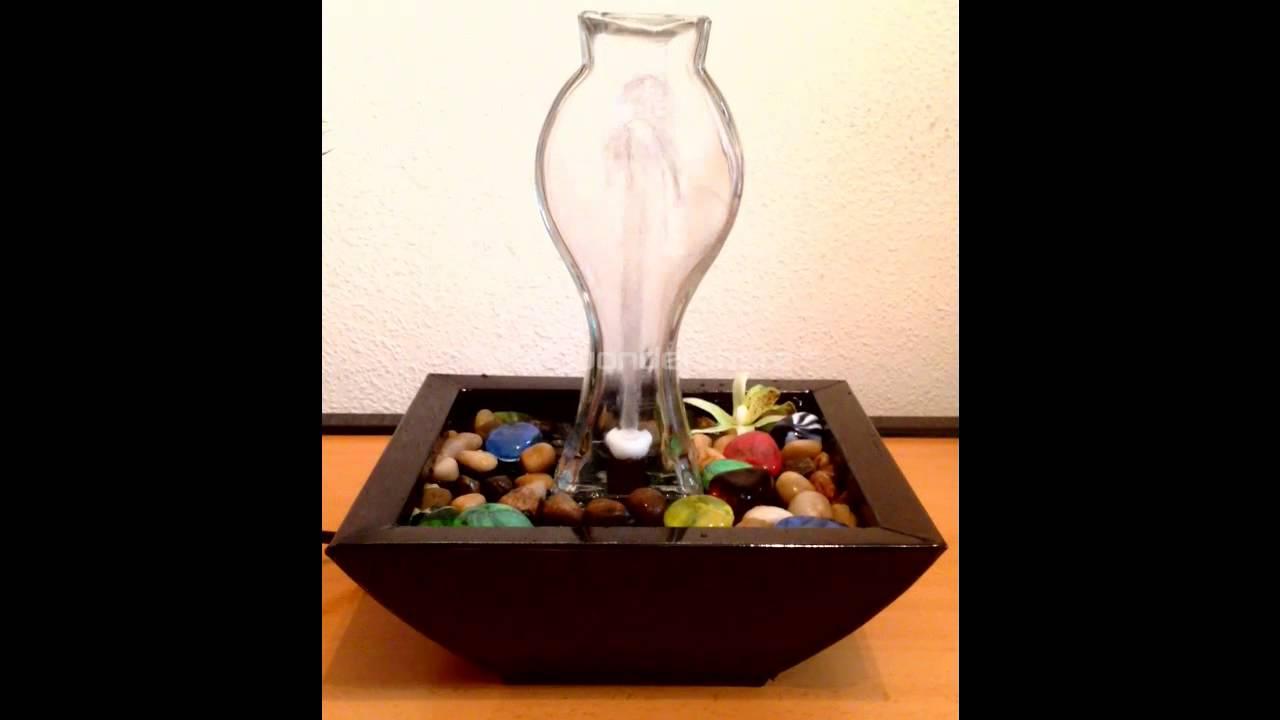 agua decorativa fuentes de mesa 1 youtube - Fuentes De Agua Decorativas