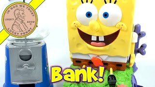 SpongeBob SquarePants Christmas Gumball Machine, Nickelodeon