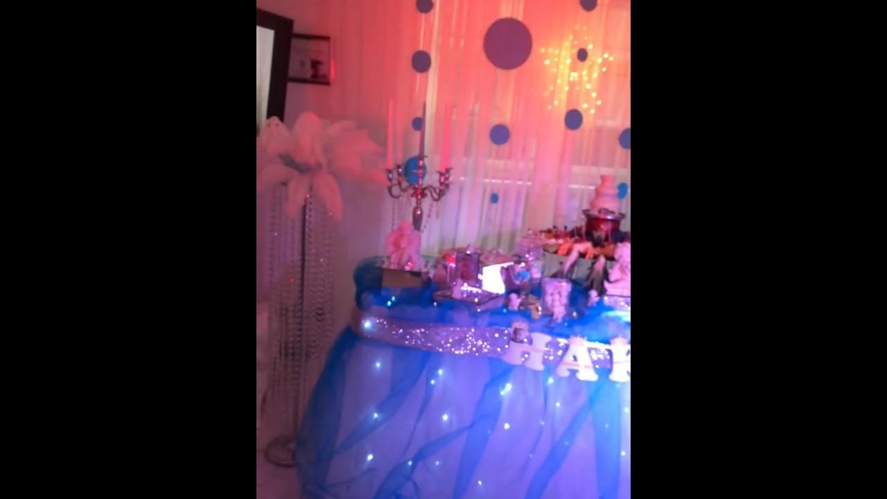 Décoration Anniversary Baby Boy Bleu Décoration D