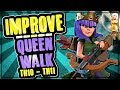 IMPROVE YOUR ATTACKS WITH A QUEEN WALK | TH10 - TH11 AQ WALK GUIDE | Clash of Clans