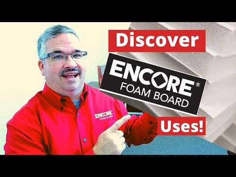 What is Foam Board Used For? Discover the Uses and Versatility of Encore Foam Core Boards