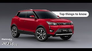 Mahindra XUV300 – Top Things to know - Autoportal