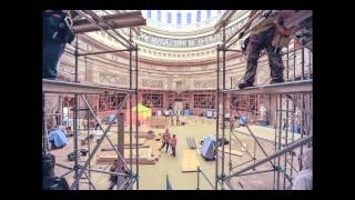 Rotunda Preparation for Capitol Dome Restoration
