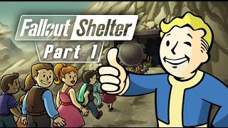Fallout Shelter Gameplay Walkthrough Part 1 - OVERSEER! ( iOS & Android )